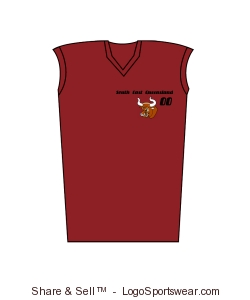 womens team singlet top Design Zoom